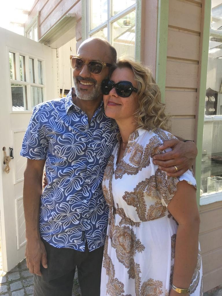 Ajay '78 and Riitta Meswani